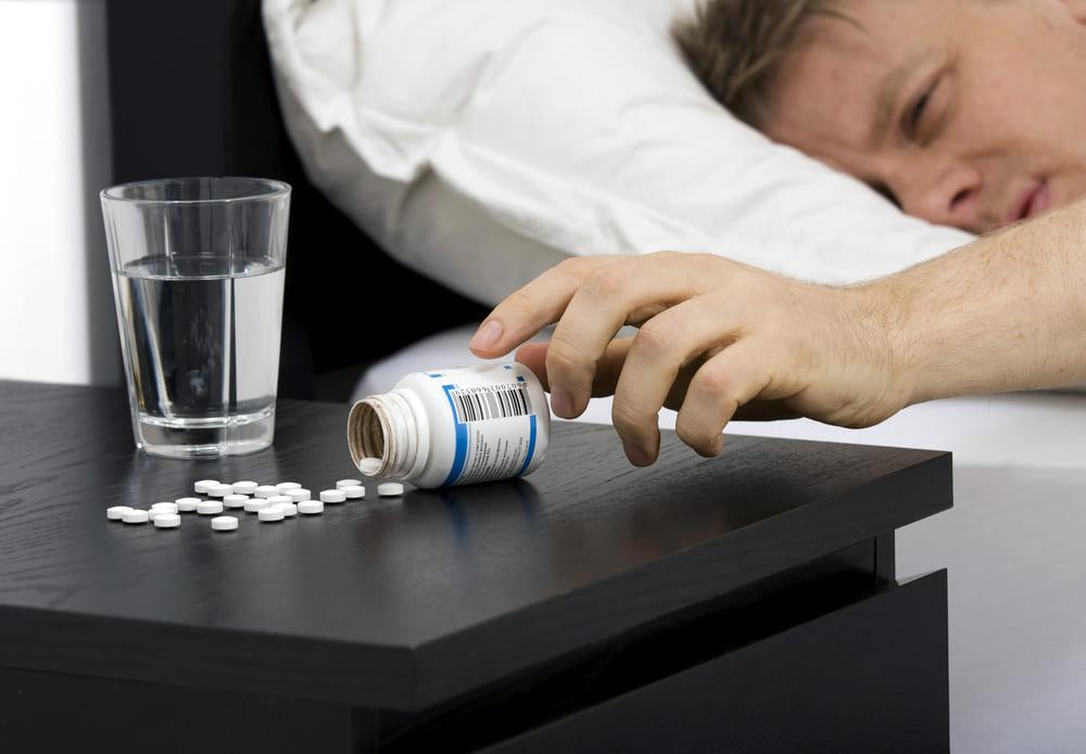 Лекарства от бессонницы (снотворные) и алкоголь